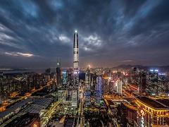 """蔡屋围700米高楼刷新""""深圳地标"""" 细数过往""""深圳第一高"""""""