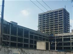 北京华联合肥和平路购物中心重建四年仍未开业