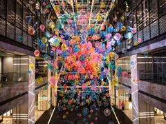北京环球金融中心「TALK TO THE NEXT 话说未来」隆重揭幕