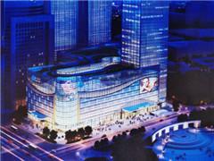呼和浩特振华购物中心开工 中山西路商圈坐落17家商场