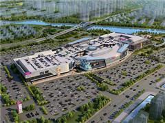 常熟永旺梦乐城计划2019年3月开业 目前外立面已基本成型