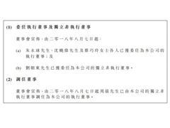五洲国际:副总裁沈晓伟、总裁助理朱永球等获委任为执行董事