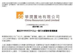 8月房企销售业绩盘点:4家企业过300亿 碧桂园单月销售年内最低