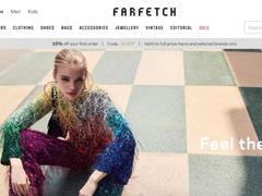 奢侈品电商Farfetch即将上市 计划筹集7.96亿美元