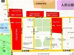 南昌苏宁广场3万�O用地动工 购物中心规划7层商业及下沉广场