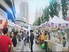玉兔、市集、Disco、明信片、天台戏剧  在东原・1891潮玩传统佳节