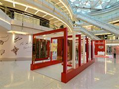 上海ifc商场 璀璨玻璃艺术耀国庆