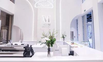 Lady M杭州二店1.14登陆湖滨银泰in77 采用3层独栋设计