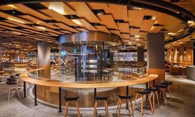 """3000m2的Bee+Lifestyle超级烘焙工坊对标星巴克 欲做美食界的""""烘焙迪士尼"""""""