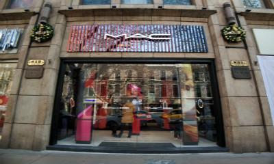 推出王者荣耀限量唇膏后  M·A·C又开了全国首家新零售潮店