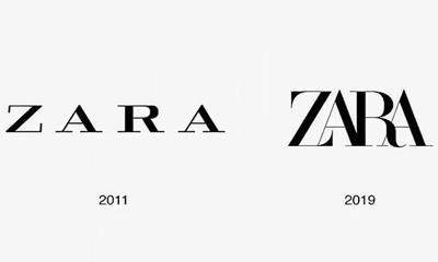 快时尚遇冷 Zara时隔8年再次更换Logo!