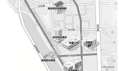 """杭州湖滨步行街将改造提升:总长增至2000米、主打""""新零售"""""""