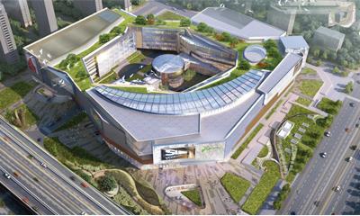 合肥苏宁广场开工奠基 预计2021年10月正式营业!