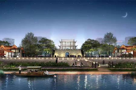 东百9.56亿摘利桥古街19万㎡商业地块 打造福清文旅新地标