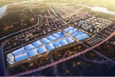 绿地济南国际博览城项目动工 总占地约6800亩