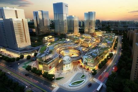 杭州万融城被融创拿下,商业部分为自持