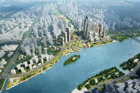 """广州广船旧址化身125万㎡TOD综合体,大湾区又一""""高颜值""""项目来了"""