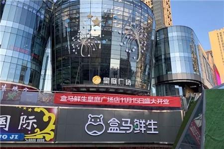 盒马一日在重庆连开两店 进驻皇庭广场等