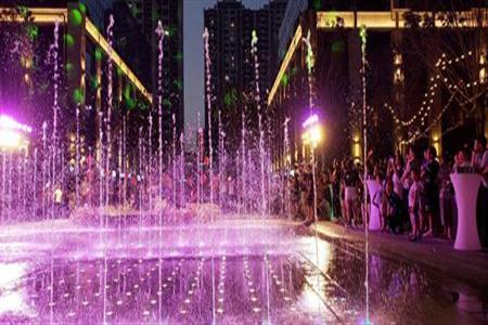 兰州中天健广场11.8开街  助力城市夜间经济增长