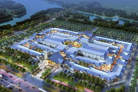 济宁枫叶小镇奥特莱斯项目动工建设 预计2021年5月亮相