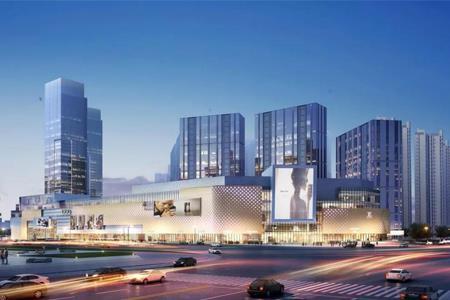 40万㎡湘潭步步高.九华新天地商业中心开工 争取2021年10月开业