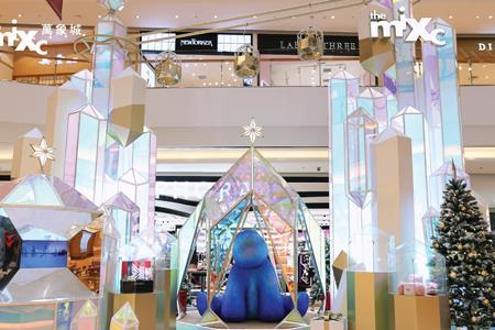 怪好看!今年上海超20家购物中心圣诞美陈集锦来了