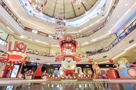 2019杭州圣诞图报下篇 | 鼠小小、猫和老鼠、米奇等现象级IP齐上阵