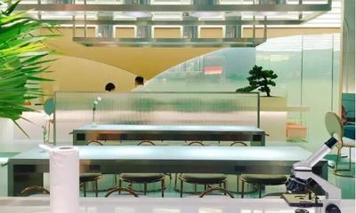 """走实验室风格的甜品店青山研究所又开出一家""""青山花园"""""""