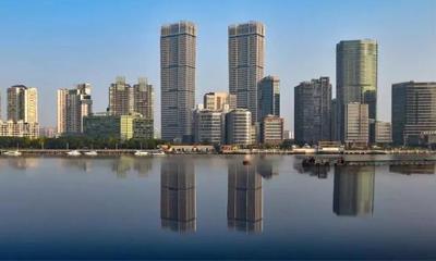 """上海263米双子塔""""星港国际中心""""竣工!预计下半年分期开业"""