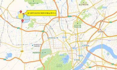盒马鲜生杭州区域供应链运用中心落户瓶窑 占地超200亩