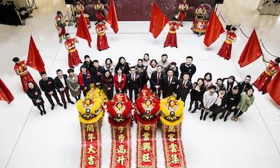舞动新春旗开得胜—东方广场己亥猪年开年仪式隆重举行