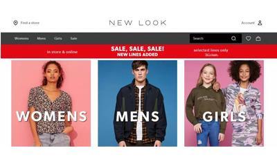 New Look去年前9个月扭亏为盈 净利润录得3850万英镑