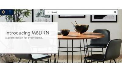 沃尔玛推出新自有品牌MoDRN、主打在线家具