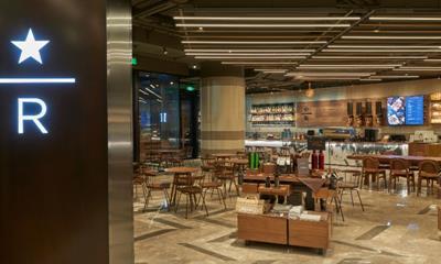 星巴克在港汇恒隆广场开出中国首家 以焙烤美食为特色的全新臻选店