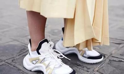 """LV打造第二个爆款运动鞋 奢侈运动鞋会成为""""现金奶牛""""吗?"""
