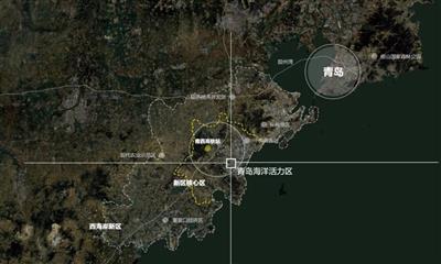 青岛西海岸新中央商务区开工  新一代商圈开始打造