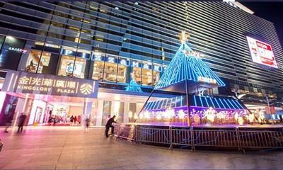 金光华广场2018年销售额25.35亿 未来连续加码国际一线美妆