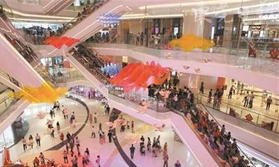 春节假期东莞多个商场人气爆棚 家电卖场营业额上涨