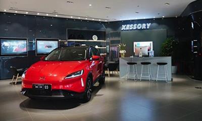 小鹏汽车上海首家体验中心正式开业  坐标合生汇