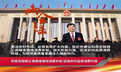 两会政府工作报告背后 苏宁零售云以新业态促进乡镇消费升级