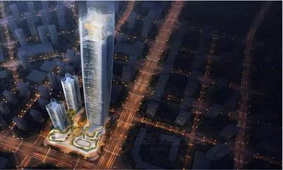 """昆明绿地中心高度""""缩水""""至428米 仍是昆明第一高楼"""