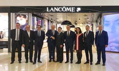 欧莱雅全球掌门人安巩中国行首访西安赛格国际购物中心