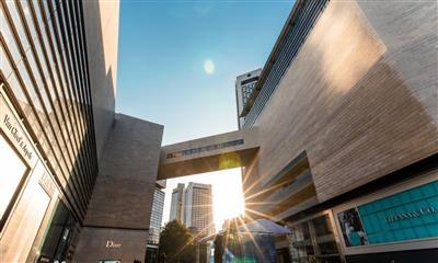 2018德基广场销售额破100亿 打造高端与体验并存的城市标杆