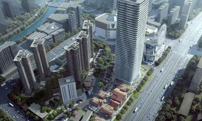 上海静安大悦城二期举办出正负零仪式 预计2020年交付