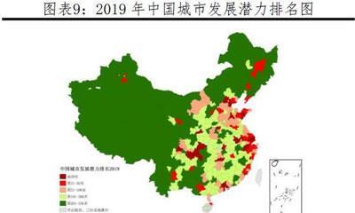 2019中国城市发展潜力排名:成都南京武汉重庆天津杭州位居前十