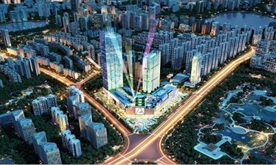潮尚星秀场 龙湖武汉江宸天街招商中心启幕