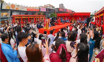 聚焦传统文化 广州百信广场开启大唐文化展