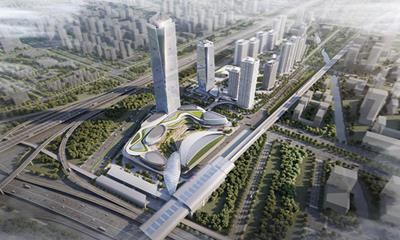 新鸿基南沙庆盛枢纽综合体规划曝光:力争2023年首期开幕