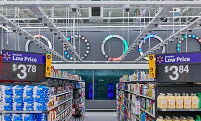沃尔玛人工智能零售商店对外开放 占地50000平方英尺
