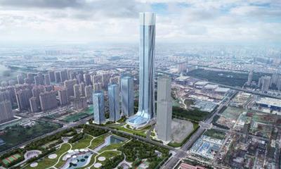济南恒大国际金融中心及恒大广场项目批前公示 总建面达117万�O